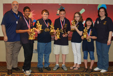 Elementary Sweepstakes Champions
